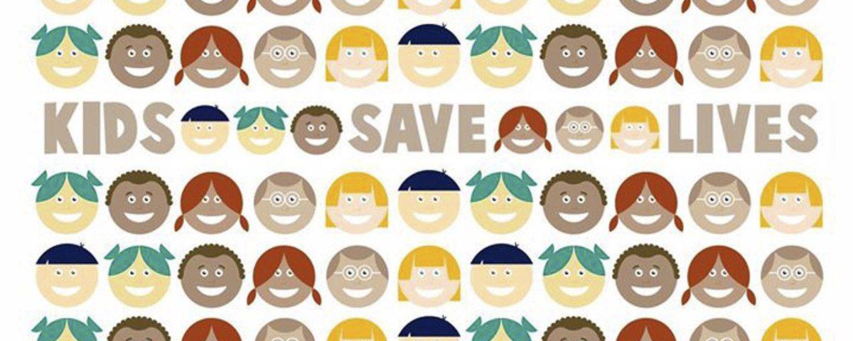 Los niños salvan vidas