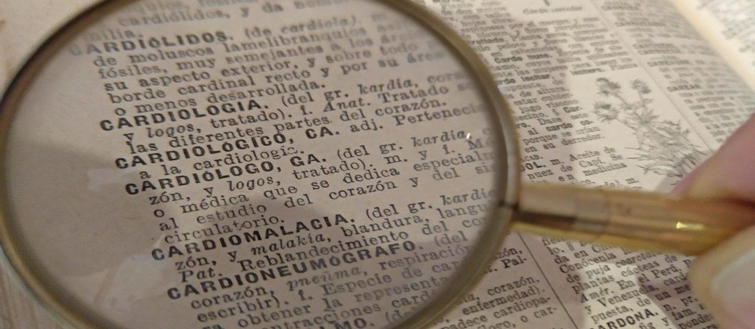 Vocabulario de RCP y uso de desfibriladores