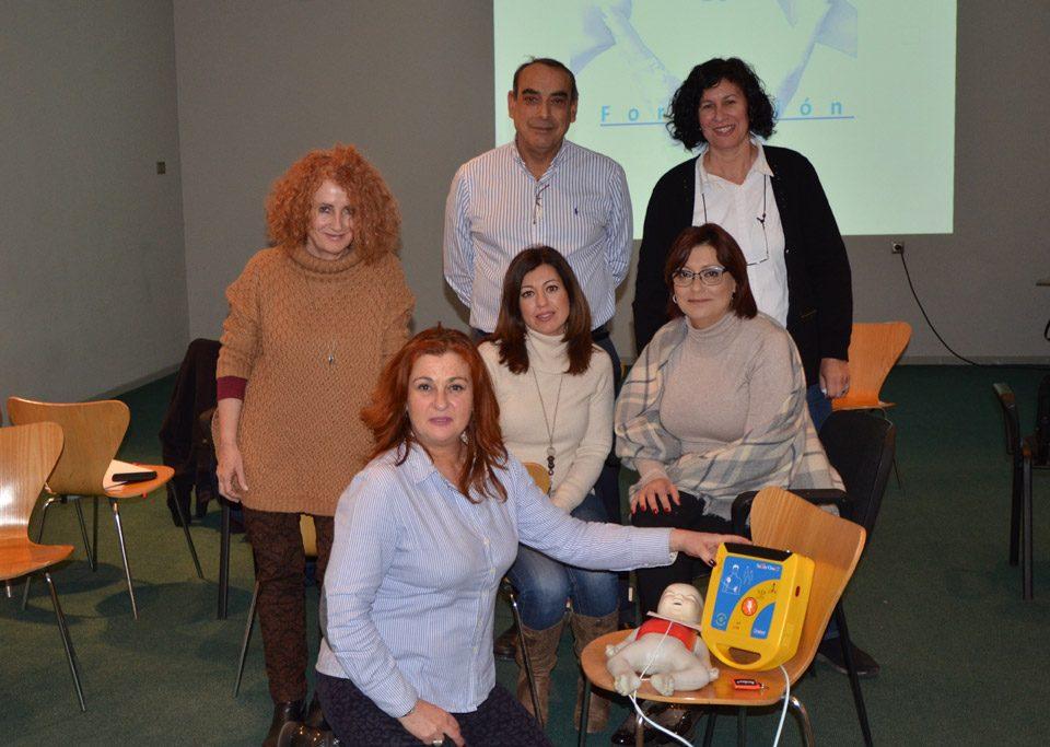 Formación RCP y uso DESA en Palau de la Música de Valencia